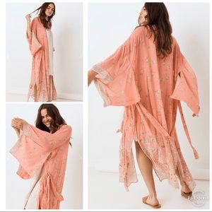 Spell and the Gypsy Hendrix Robe Dusty Pink